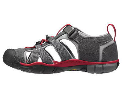 Detské sandále Seacamp II CNX Magnet/Racing Red