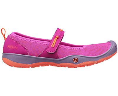 KEEN Detské topánky Moxie Mary Jane Purple Wine/Nasturtium KIDS