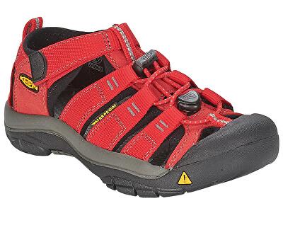 Detské sandále Newport H2 Ribbon Red/Gargoyle