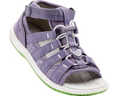 KEEN Sandale pentru copii Hadley Purple Sage/Greenery