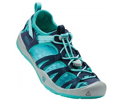 KEEN Junior sandále Moxie Sandal Dress Blues/Viridian