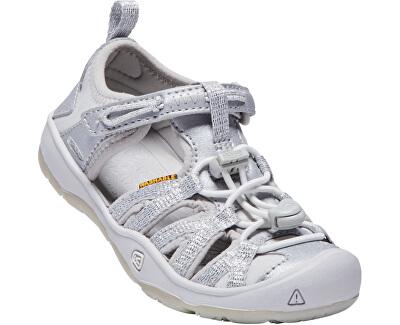Detské sandále Moxie Sandal Silver KIDS