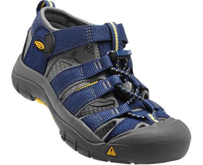 KEEN Detské sandále Newport H2 Blue Depths/Gargoyle JUNIOR
