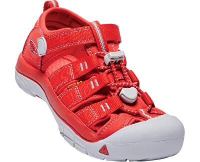 KEEN Detské sandále Newport H2 Rainbow Pack Firey Red JUNIOR