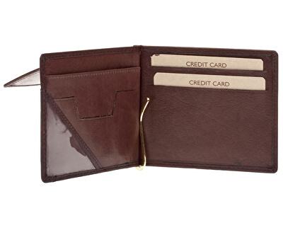 Pánska kožená peňaženka W-2010 Brown
