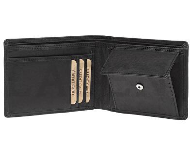 Pánska kožená peňaženka 7176 E BLK