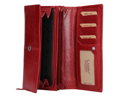 Portafoglio da donna in pelle BLC/4228 Red/Red