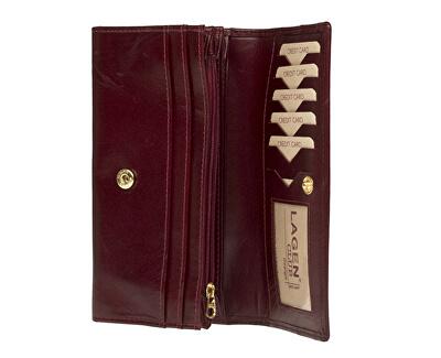 Női bőr pénztárca  B Red