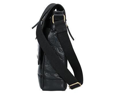 Kožená crossbody taška 22014 Black