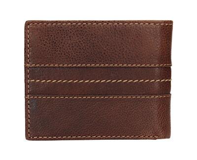 Pánska černá kožená peňaženka 3984 Tan