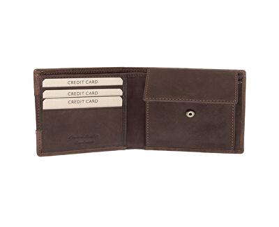 Férfi bőr pénztárca  LG-1134 OAK BRN