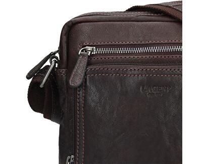 Pánská kožená crossbody taška BLC/4091 Brn