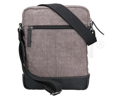 Pánská taška přes rameno 23306 Black/Beige