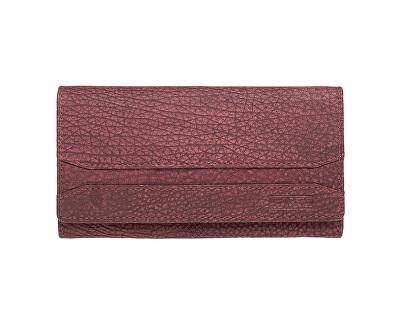 Dámska červená kožená peňaženka Red W-2025/W-3
