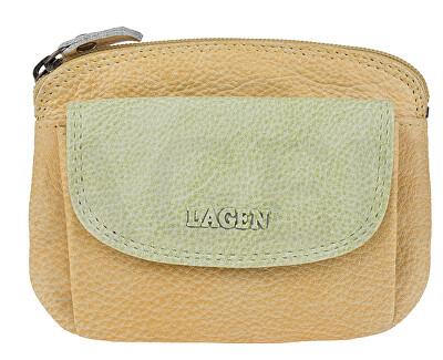 Dámská kožená peněženka 786-382 Yellow Green