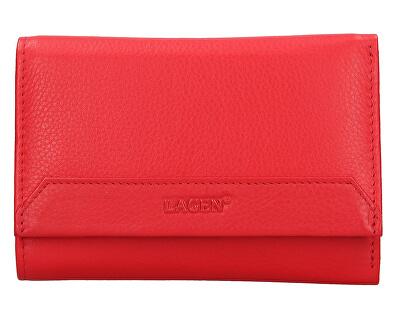 Portofel de piele pentru femei LG-11 Red