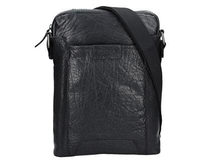 Kožená crossbody taška 24425 Black