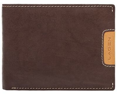 Pánská kožená peněženka 615195 Brown/Tan
