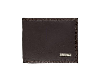 Pánská hnědá kožená peněženka Brown LG1788