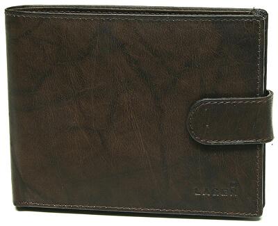 Pánská hnědá kožená peněženka Brown V-42