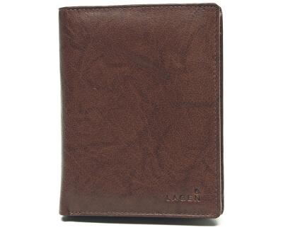 Pánská kožená hnědá peněženka Brown V-2