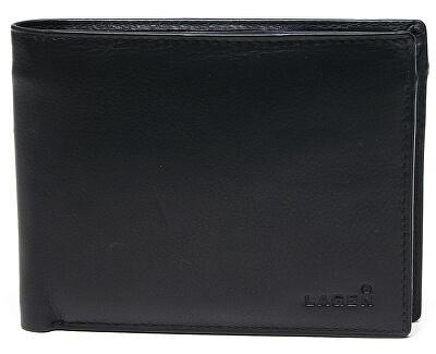 Pánská kožená peněženka Black W-8053