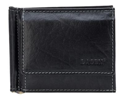 Pánská kožená peněženka dolarovka Black 1999/T