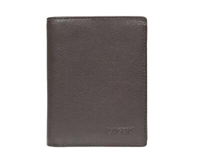 Pánska kožená peňaženka W-112 BRN