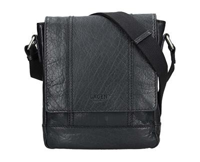 Pánská kožená taška 25696 Blk