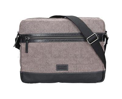 Pánska taška cez rameno 22406 Black/Beige