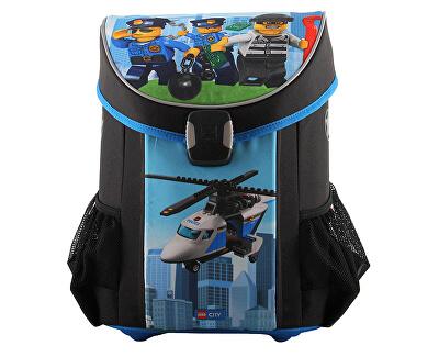 Školní aktovka LEGO CITY Police Chopper Easy