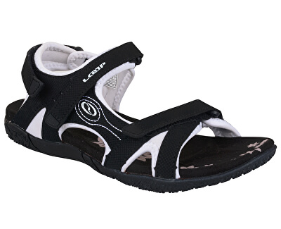4b946c77697f LOAP Dámske sandále Caffa Black Bl de Blanc čierno-biele SSL1758-V11A