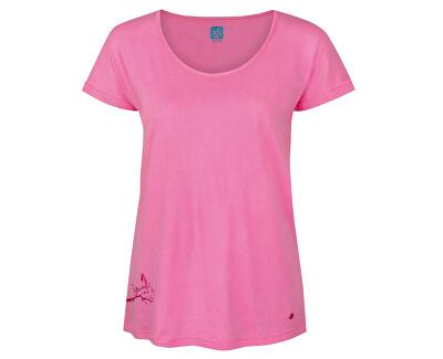 Doamnelor T-shirt Ameri Cot Candy roz CLW1746-J85J