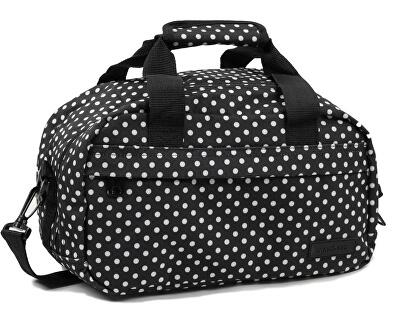 Cestovní taška 20L SB-0043 černá/bílá