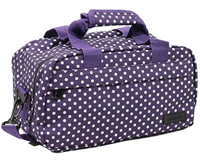 Cestovní taška 20L SB-0043 fialová/bílá