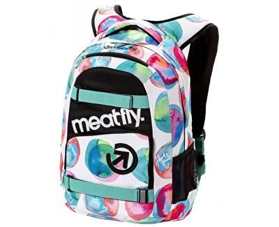 Meatfly Batoh Exile 3 Backpack D-Blossom White