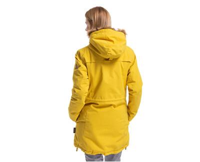 Dámska bunda Rainy 3 Parka Yellow