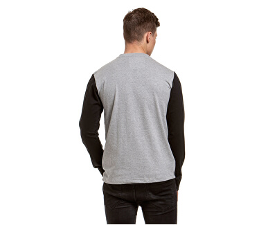 Pánske tričko Judgement D-Heather Grey, Black