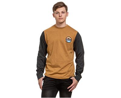 Pánske tričko Judgement C-Ht. Mustard, Ht. Charcoal
