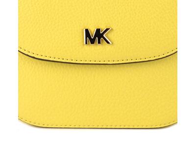 Elegant nej crossbody kabelka Mott Pebbled Leather Dome Crossbody Bag Yellow
