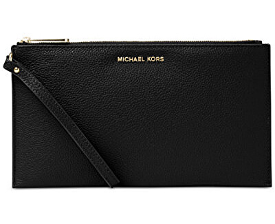 47b6f72a8f Michael Kors Elegantnej kožené listová kabelka Studio Mercer Large Zip  Clutch Doprava ZDARMA