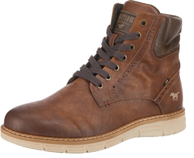 Pánske členkové topánky 4139501-301 Kastanie