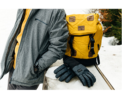 Férfi sí kabát CIBOR Grey melange BU34002SNW-320