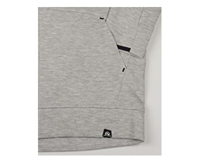 Herren Sweatshirt Smawer MI-3594SP 274 black melange
