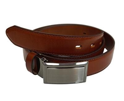 Pánsky kožený opasok OKPS002-43 Brown