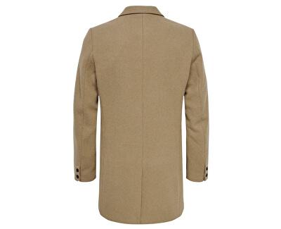 Pánský kabát ONSJULIAN SOLID WOOL COAT OTW Camel