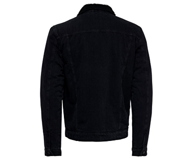 Pánská bunda ONSLOUIS JACKET BLACK PK 3592 NOOS Black Denim