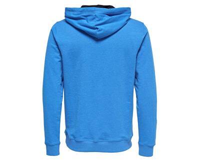 Pánska mikina Basic Sweat Hoodie Unbrushed Noos Imperial Blue