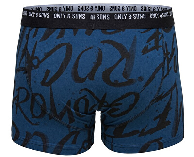 Pánske boxerky Nate trunk noos Blue Wing Teal
