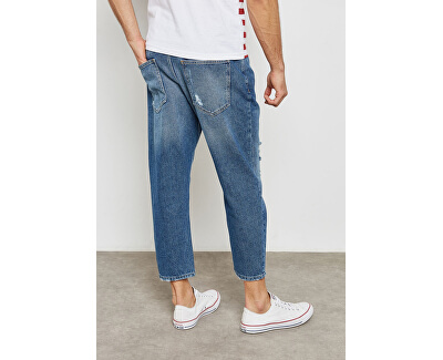 "Pánske džínsy Beam Med Blue Exp ""32 Medium Blue Denim Jeans24 Lng"
